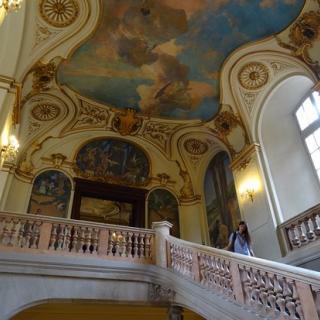 Décor pour votre tournage : le grand escalier d'honneur au Capitole