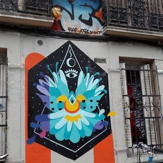 Décor tournage : les graffs de la rue Gramat à Toulouse