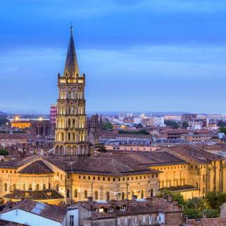Décor pour votre tournage : la basilique Saint-Sernin