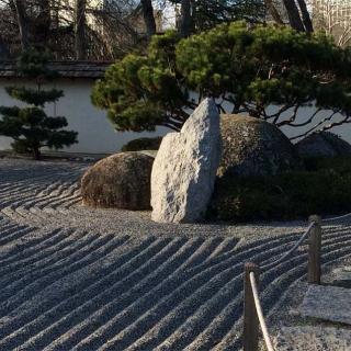 Décor pour votre tournage : le jardin zen du jardin japonais