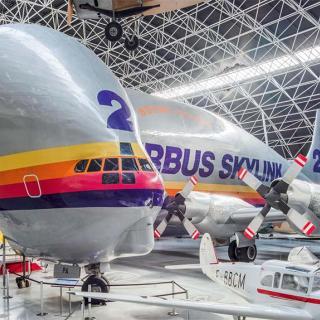 Décor pour votre tournage : le Super Guppy au musée de l'aéronautique Aeroscopia