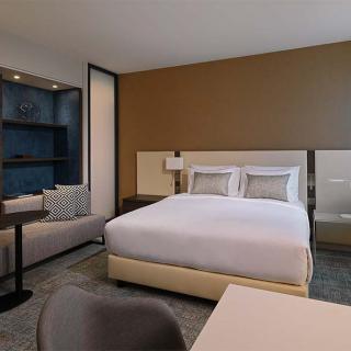 Décor pour votre tournage : chambre hôtel Marriott