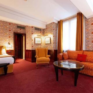 Décor pour votre tournage : grande chambre du Grand Hôtel de l'Opéra