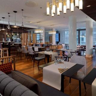 Décor pour votre tournage : le restaurant de l'hôtel Residence Inn by Marriott