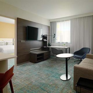 Décor pour votre tournage : suite hôtel Marriott