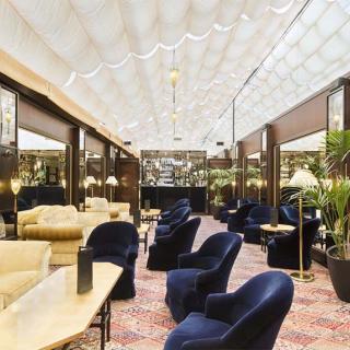 Décor pour votre tournage : bar loung cosy du Grand Hôtel de l'Opéra