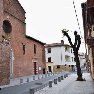 Décor pour votre tournage : l'église des Minimes à Toulouse