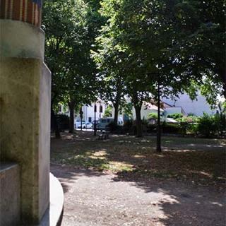 Décor pour votre tournage : le kiosque à musique de la place Marius Pinel