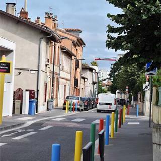 Décor pour votre tournage : la rue du Général Bourbaki à Toulouse
