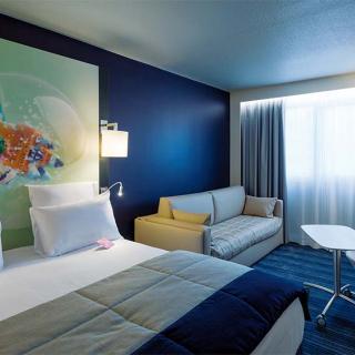 Décor pour votre tournage : chambre d'hôtel Mercure Saint-Georges