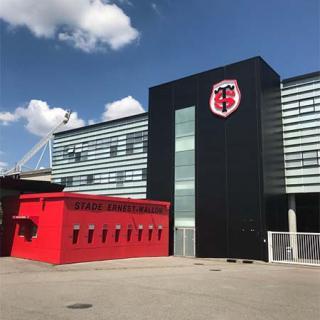 Décor pour votre tournage : le stade de rugby du Stade Toulousain