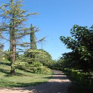L'entrée du parc de la Rougère