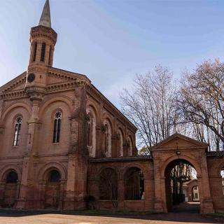 Décor pour votre tournage : la chapelle du centre hospitalier Gérard Marchant