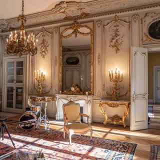 Décor pour votre tournage : le Salon Jaune du Palais Niel