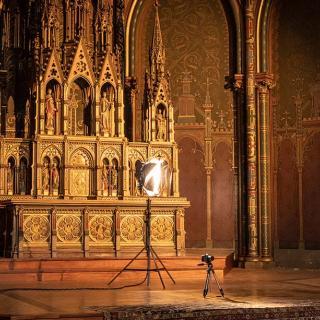 Décor pour votre tournage : église du Gésu à Toulouse