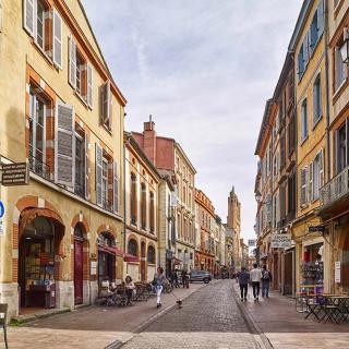 Décor pour votre tournage : la rue du Taur à Toulouse