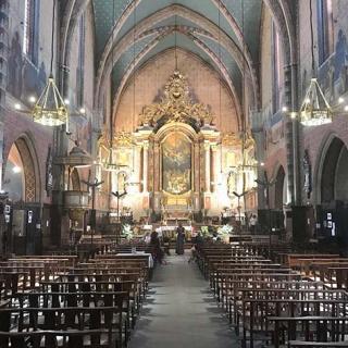Décor pour votre tournage : intérieur de l'église Saint-Nicolas quartier Saint-Cyprien