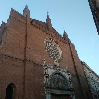 Décor pour votre tournage : église de la Dalbade à Toulouse
