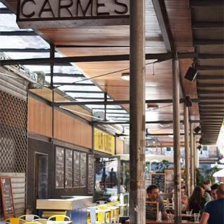 Décor pour votre tournage : le marché des Carmes