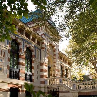 Décor pour votre tournage, la villa mauresque du musée Georges Labit