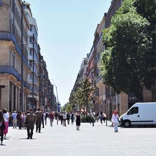 Décor pour votre tournage : la grande rue d'Alsace-Lorraine à Toulouse