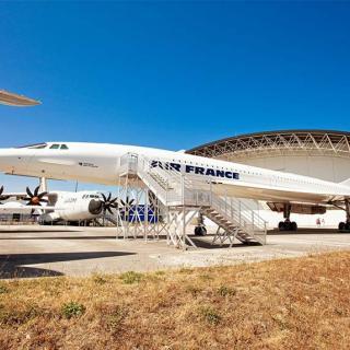 Décor pour votre tournage : le Concorde d'Air France