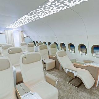 Décor pour votre tournage : intérieur avion