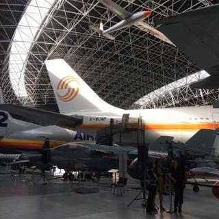 Décor pour votre tournage : le musée de l'aéronautique Aeroscopia