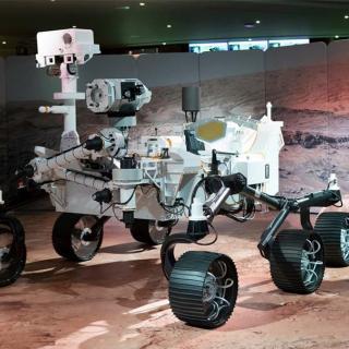 Décor pour votre tournage : le robot Persévérance sur Mars