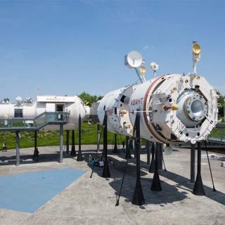 Décor pour votre tournage : la station Mir à la Cité de l'espace