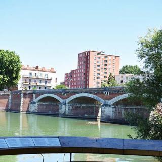 Décor pour votre tournage : la Garonne et l'île du Ramier à Toulouse