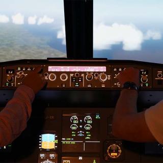 Décor pour votre tournage : simulateur d'avion