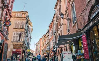 Décor pour votre tournage : la rue des Filatiers à Toulouse