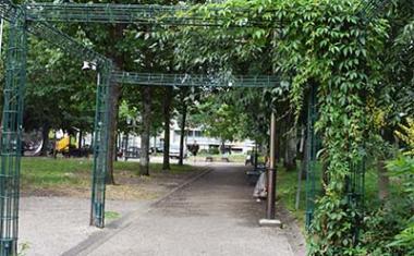 Décor pour votre tournage : le jardin Claude Nougaro à Toulouse