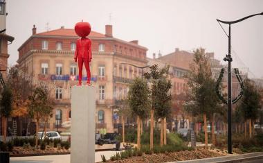 Décor pour votre tournage : les allées Jean-Jaurès à Toulouse