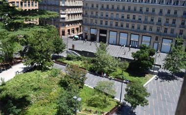 Décor pour votre tournage : le square Charles de Gaulle à Toulouse